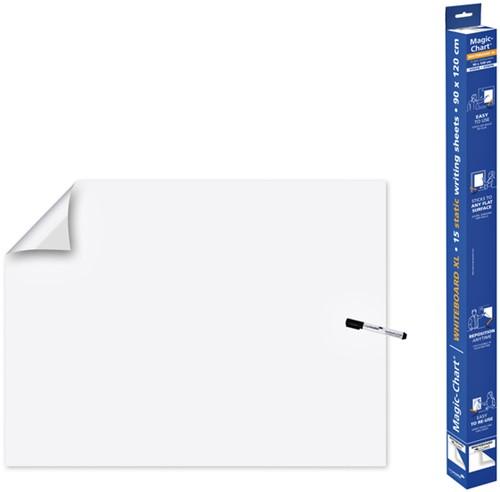 Magic-Chart Legamaster whiteboard XL 90x120cm wit