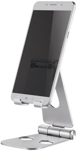 Telefoonstandaard NewStar DS10160SL1 opvouwbaar Zilver
