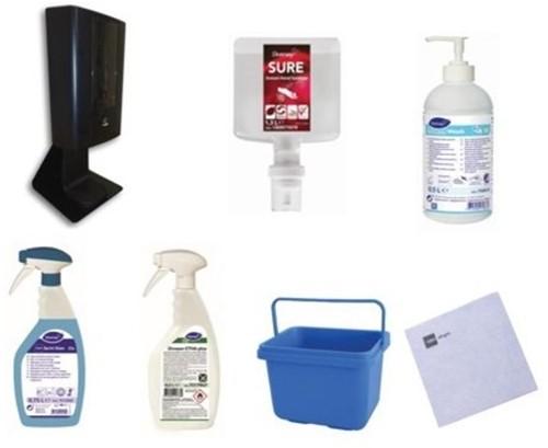 Hygiëne en schoonmaak pakket