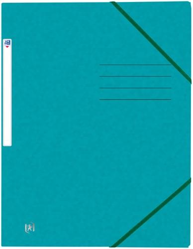 Elastomap Oxford Top File+ A4 aqua