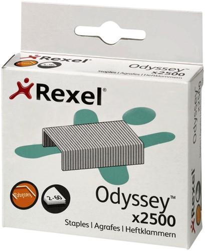 Nieten Rexel Odyssey verzinkt 2500stuks