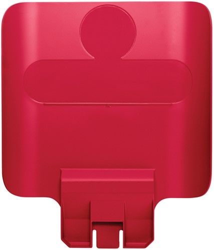 Paneel Slim Jim Recyclestation rood