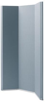 Ruimteverdeler Sigel akoestiek 1000x1800x50mm donkergrijs