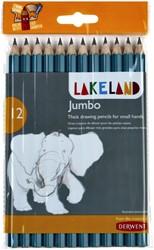 Potloden Derwent Lakeland jumbo HB blister à 12 stuks