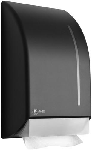 Dispenser Satino Black voor handdoeken zigzag gevouwen