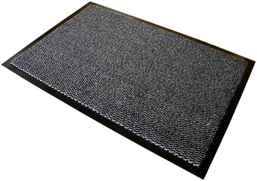 Deurmat Advantagemat binnen 60x90cm grijs