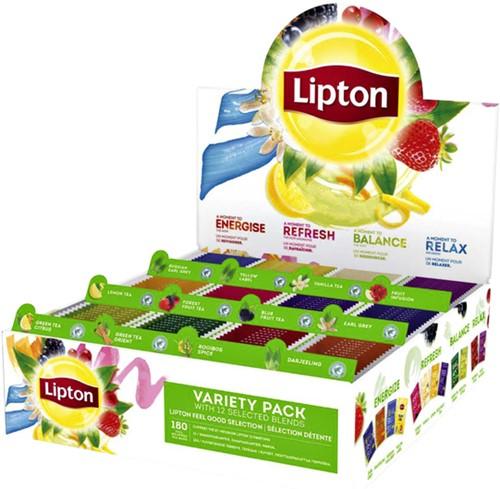 Thee Lipton assortimentsbox 12x15stuks