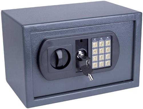 Kluis Pavo 350x250x250mm elektronisch donkergrijs
