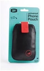 Hoes Dresz pouch upp phone zwart/rood