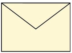 Envelop C6 creme
