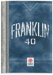 Schrift Franklin en Marshall boys (A4) lijn
