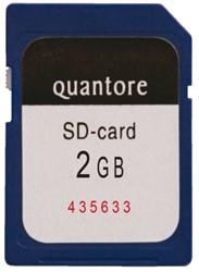 GEHEUGENKAART QUANTORE SD 2GB 1 STUK