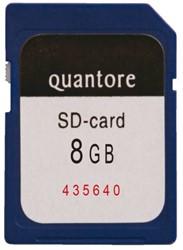 GEHEUGENKAART QUANTORE SD 8GB 1 STUK