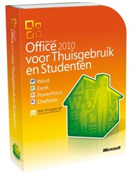 SOFTWARE MICROSOFT OFFICE HOME AND STUDENT 2010 NL 1 STUK