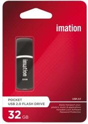 USB-STICK IMATION FLASH DRIVE POCKET 32GB 1 STUK