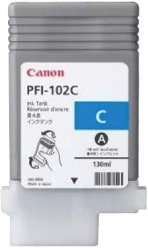 Inktcartridge Canon PFI-102 blauw