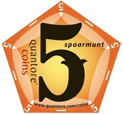 Spaarmunt coins waarde 5 punten