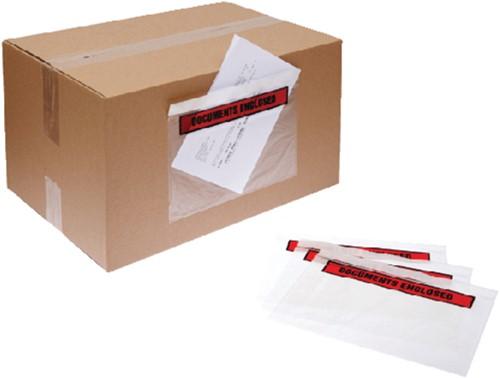 Paklijstenvelop Quantore zelfklevend bedrukt 165x115mm 1000s