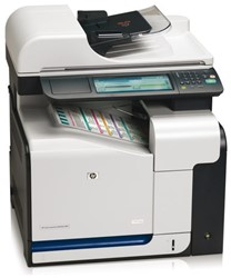 Multifunctional HP LaserJet CM3530