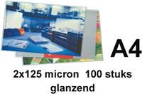 Lamineerhoes Quantore A4 2x125micron 100stuks-2