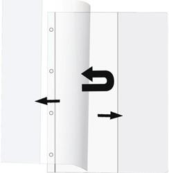 BOEKOMSLAG KANGARO A4 PVC 0.18 25 STUK