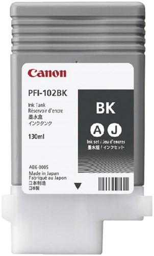 Inktcartridge Canon PFI-102 zwart