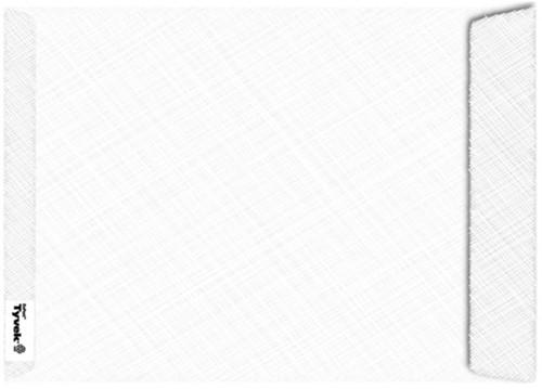 Envelop Tyvek akte B4 254x353Mm 54gr wit 100stuks