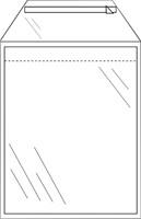 Envelop CleverPack akte B4 245x350mm zelfkl. transp. 50stuks