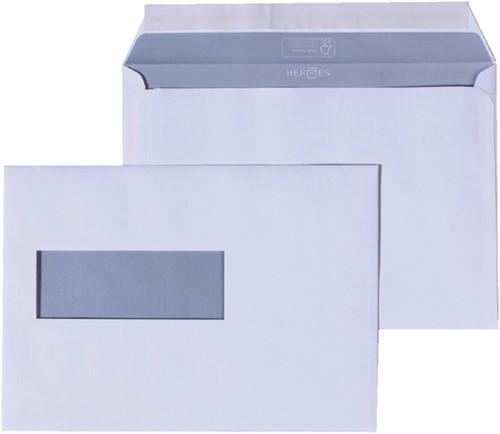 Envelop Quantore venster C5/6 vr 114x229 80gr zelfk. wit