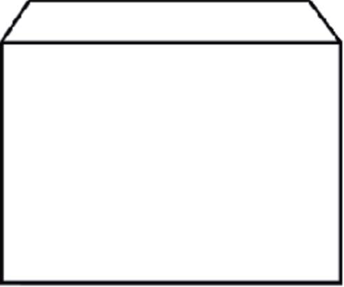 Envelop Quantore bank C6 114x162mm wit 25stuks-3