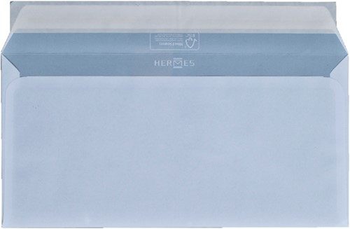 Envelop Hermes bank EA5/6 110x220mm zelfklevend wit 50stuks-2