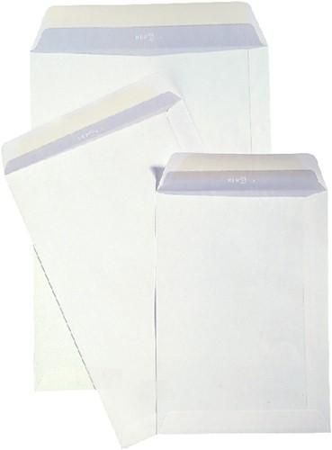 Envelop Hermes akte P185 185x280mm zelfklevend wit 25stuks-2