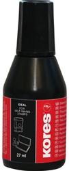 Stempelinkt Kores 27ml zwart