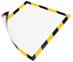 Duraframe Durable 4945130 security A4 magneet geel/zwart