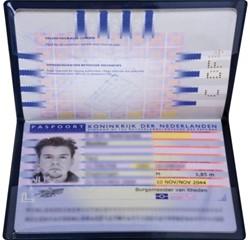 Beveiligingsmap Hidentity voor paspoort
