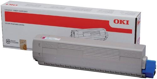 Toner Oki 44844506 rood