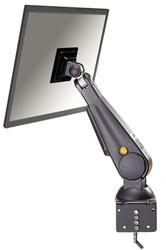 """LCD flatscreenarm Newstar D100 10-24"""" klem zwart"""
