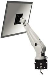 "LCD flatscreenarm Newstar D100 10-24"" klem creme"