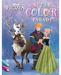 Kleurboek Deltas Frozen super color parade