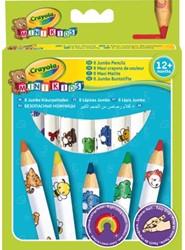 Kleurpotlood Crayola minikids dik 8 stuks print