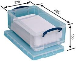 Opbergbox Really Useful 12 liter 465x270x155mm