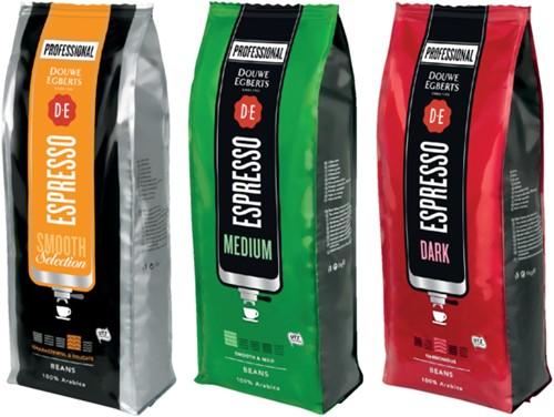 Koffie Douwe Egberts Espresso bonen extra dark roast 1000gr-2