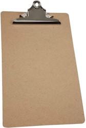 Klembord LPC A4 staand met 145mm klem hout MDF