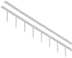 Velobindstrip Velobind S2 10-pins 25mm wit