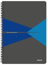 Notitieboek Leitz Office A4 lijn PP blauw