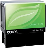 Tekststempel Colop 40 green line+bon 6regels 59x23mm-2