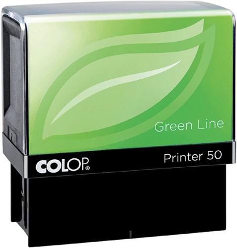 Tekststempel Colop 30 green line+bon 5regels 47x18mm