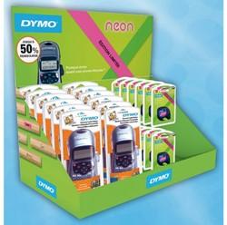 Labelprinter Dymo Letratag 6xLT-100H + 10xNeontape