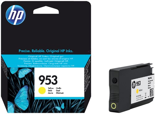 Inktcartridge HP F6U14AE 953 geel