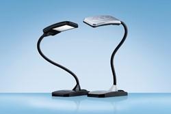 Bureaulamp Hansa ledlamp Twist zwart